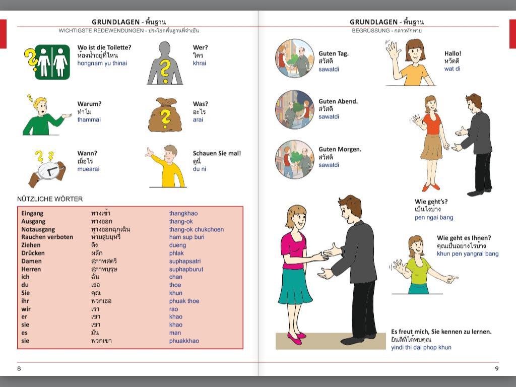 Illustrierter Sprachführer Thailändisch