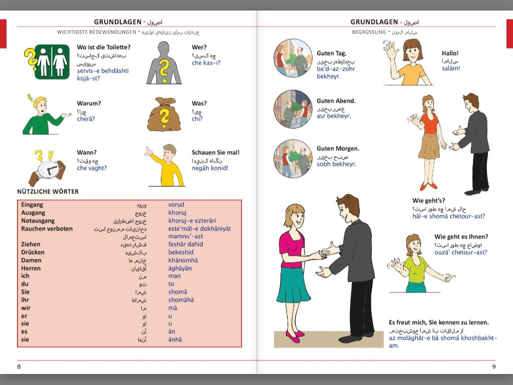 Illustrierter Sprachführer Farsi (Persisch)