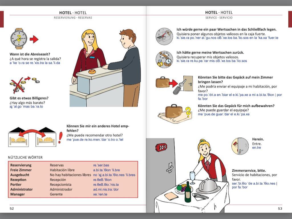 Illustrierter Sprachführer Spanisch