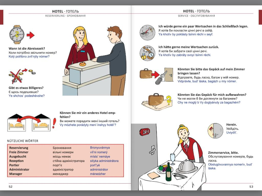 Illustrierter Sprachführer Ukrainisch
