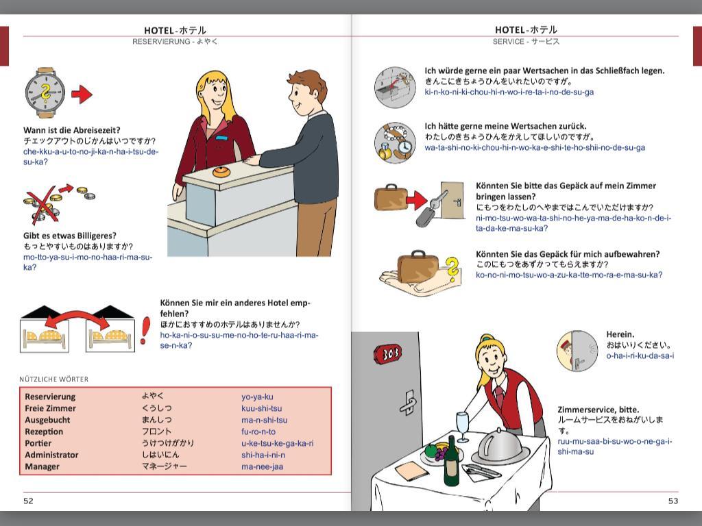 Illustrierter Sprachführer Japanisch