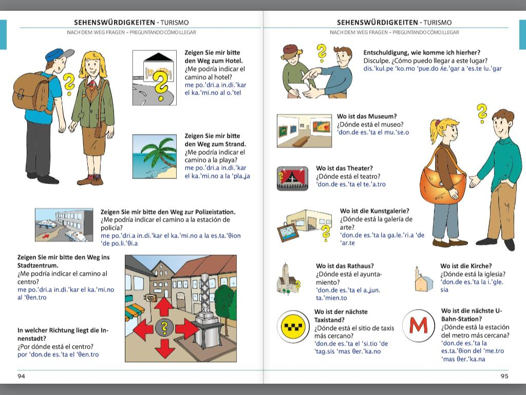 Illustrierter Sprachführer Spanisch Lateinamerika
