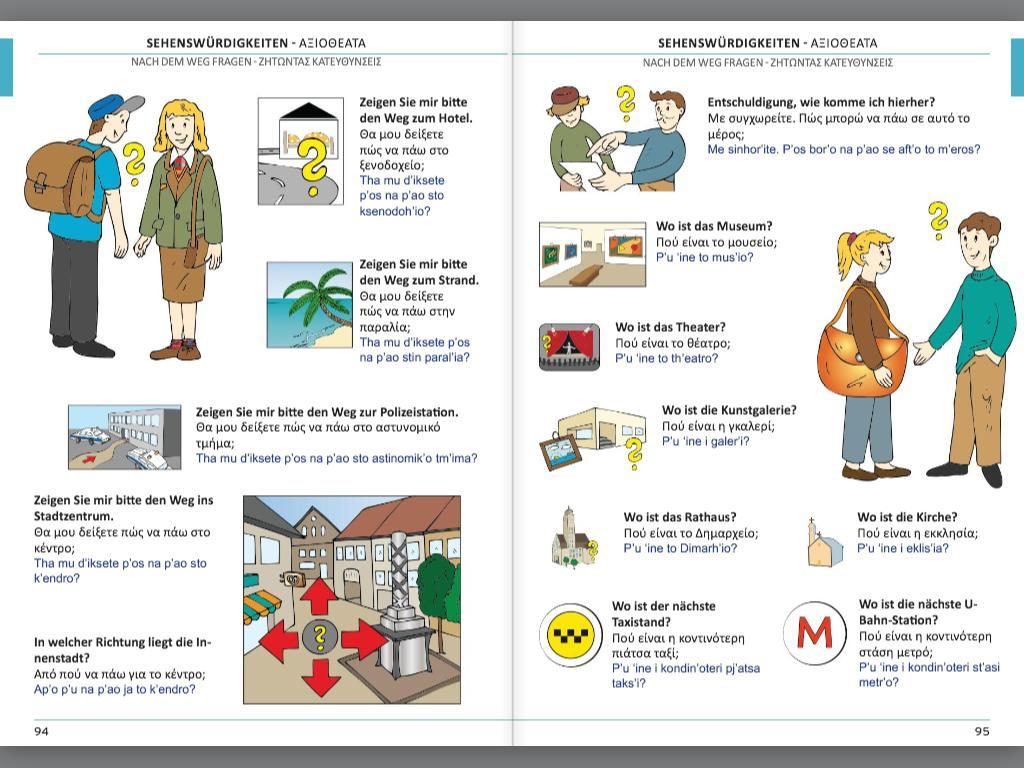 Illustrierter Sprachführer Griechisch
