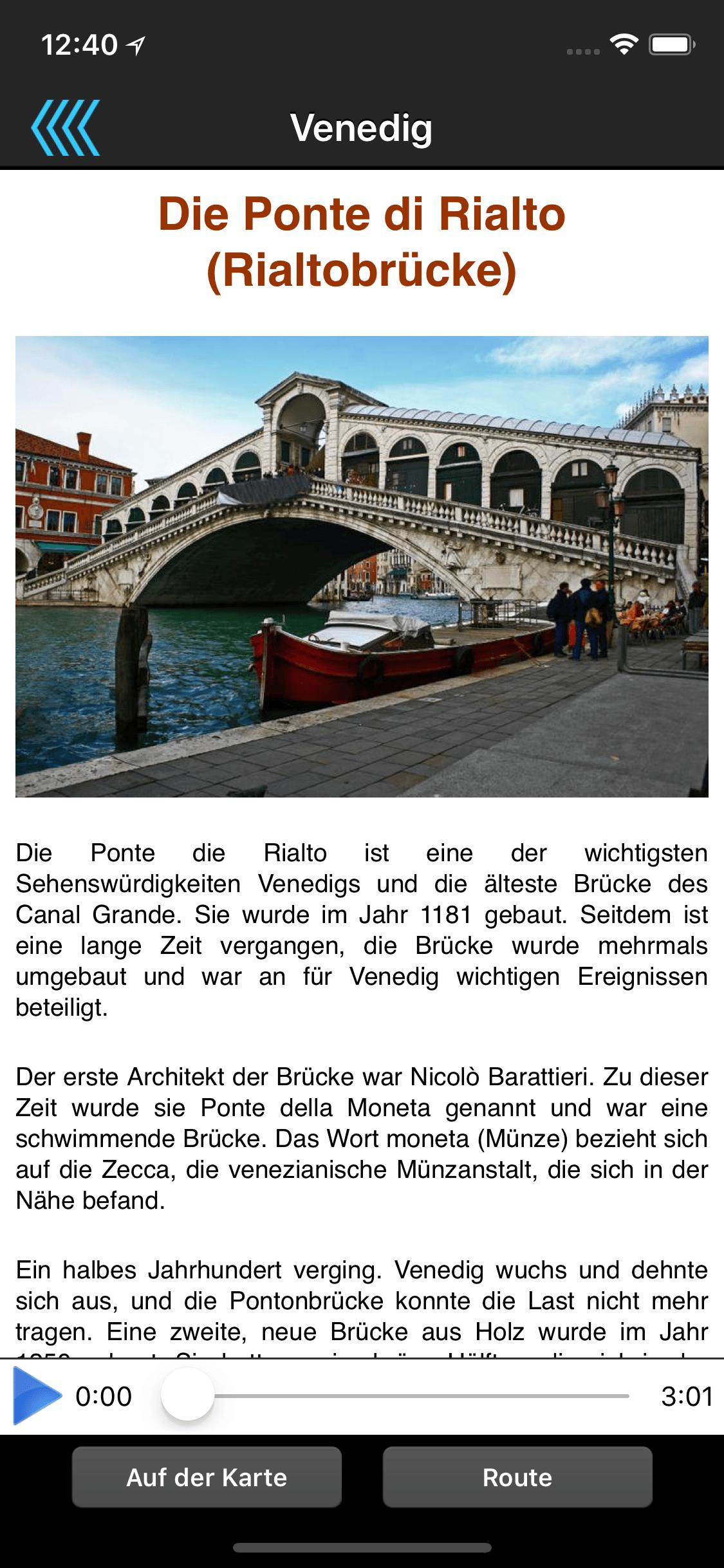 Audio-Stadtführer
