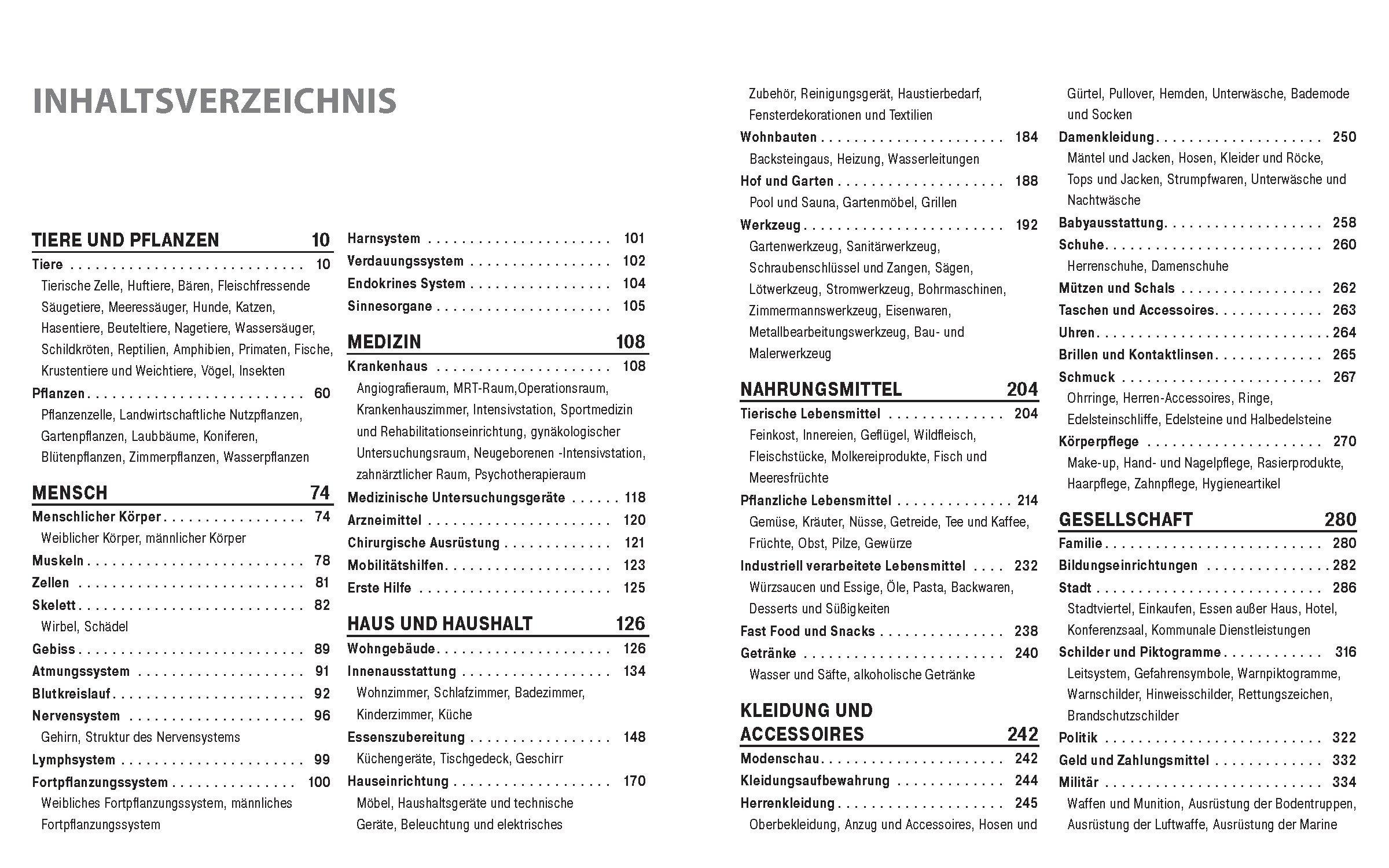 Das große Bildwörterbuch Italienisch-Deutsch