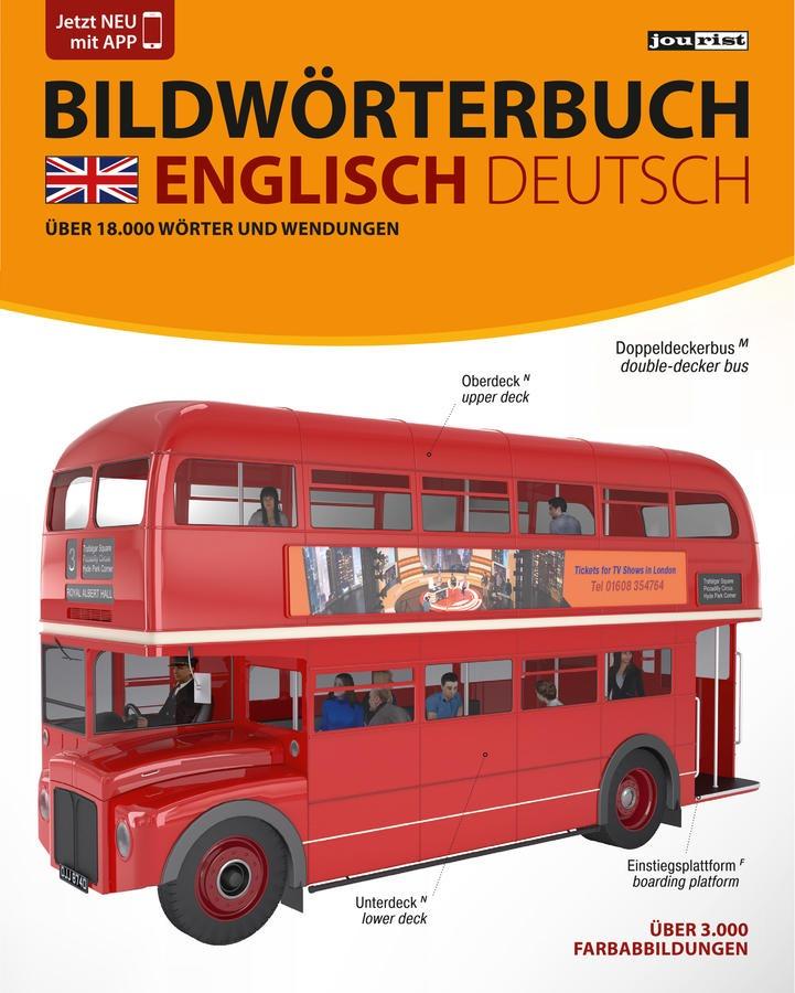 JOURIST Bildwörterbuch Englisch-Deutsch