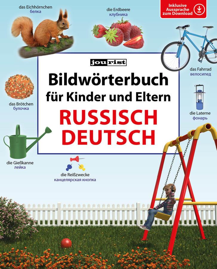Bildwörterbuch für Kinder und Eltern Russisch-Deutsch