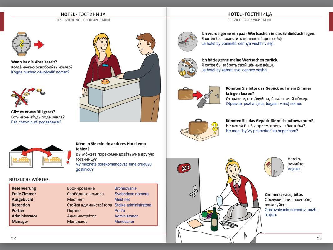Illustrierter Sprachführer Russisch