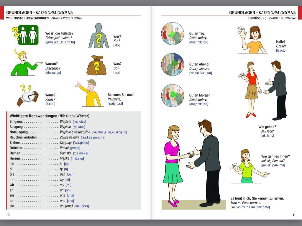 Illustrierter Sprachführer Polnisch